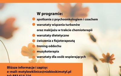 Mindfulness w onkologii : Motyle w klinice – program wsparcia pacjentek onkologicznych